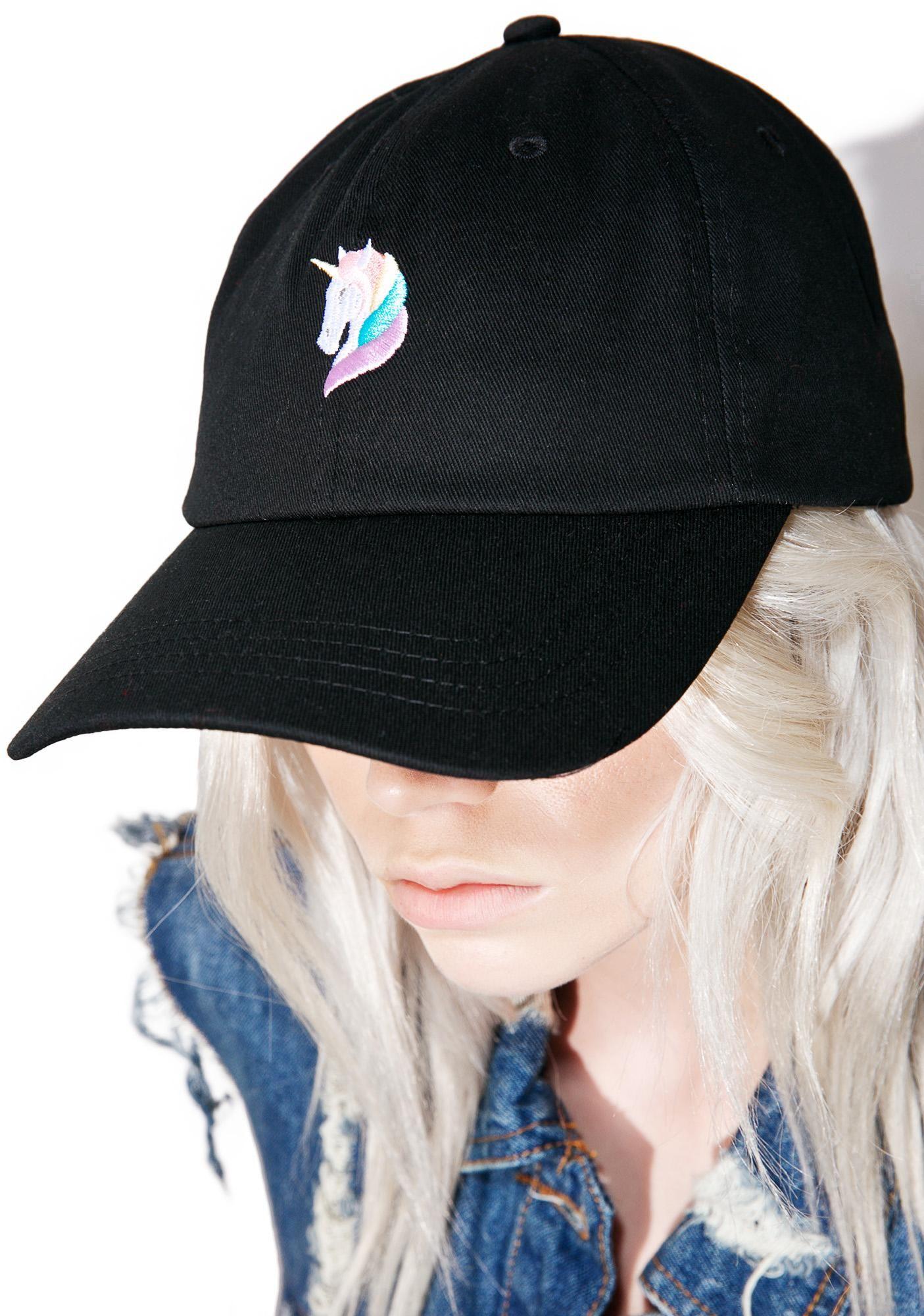 a87ef221490b5 CRSHR Rainbow Unicorn Dad Hat Parches