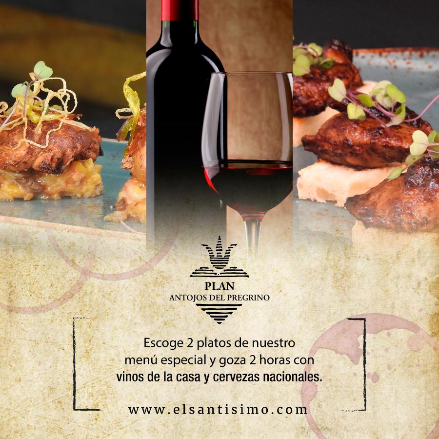 Disfruta en cuerpo y alma del Plan Antojos del Peregrino, porque lo mejor está en elegir, mezclar y compartir. Toda una bendición cualquier día de la semana.  #ElSantísimo #Cartagena #QueComerEnCartagena #Food #Foodie #FoodieCartagena