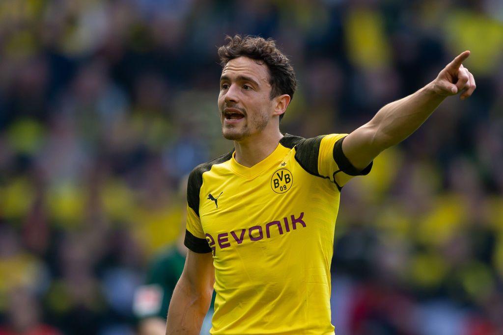 Dortmund Germany March 30 Thomas Delaney Of Borussia Dortmund Gestures During The Bundesliga Match Between Borussia Do Borussia Dortmund Dortmund Wolfsburg