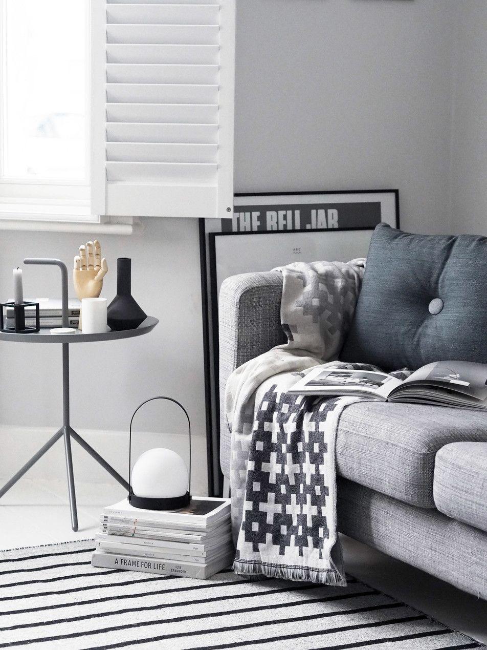 Amara home inspiration grey living room ideas hay dot cushion