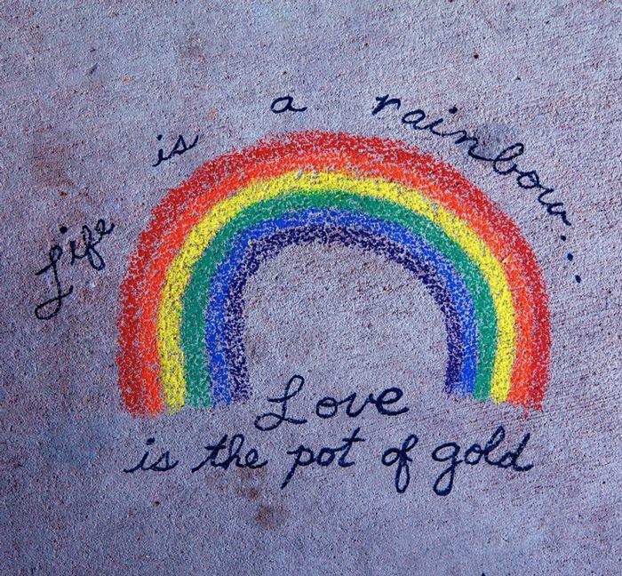 Catching Leprechauns Rainbow Quote Gold Quotes Rainbow