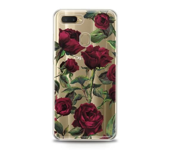 Oppo Tpu Case R17 Realme 2 Pro 1 R15 F9 K1 A7X A5 A83 A71 Cover Floral Pattern Flexible Print Silico Oppo TPU Case R17 Realme 2 Pro 1 R15 F9 K1 A7x A5 A83 A71 Cover Floral Pattern Flexible Print Silico Red Things oppo realme 2 red color