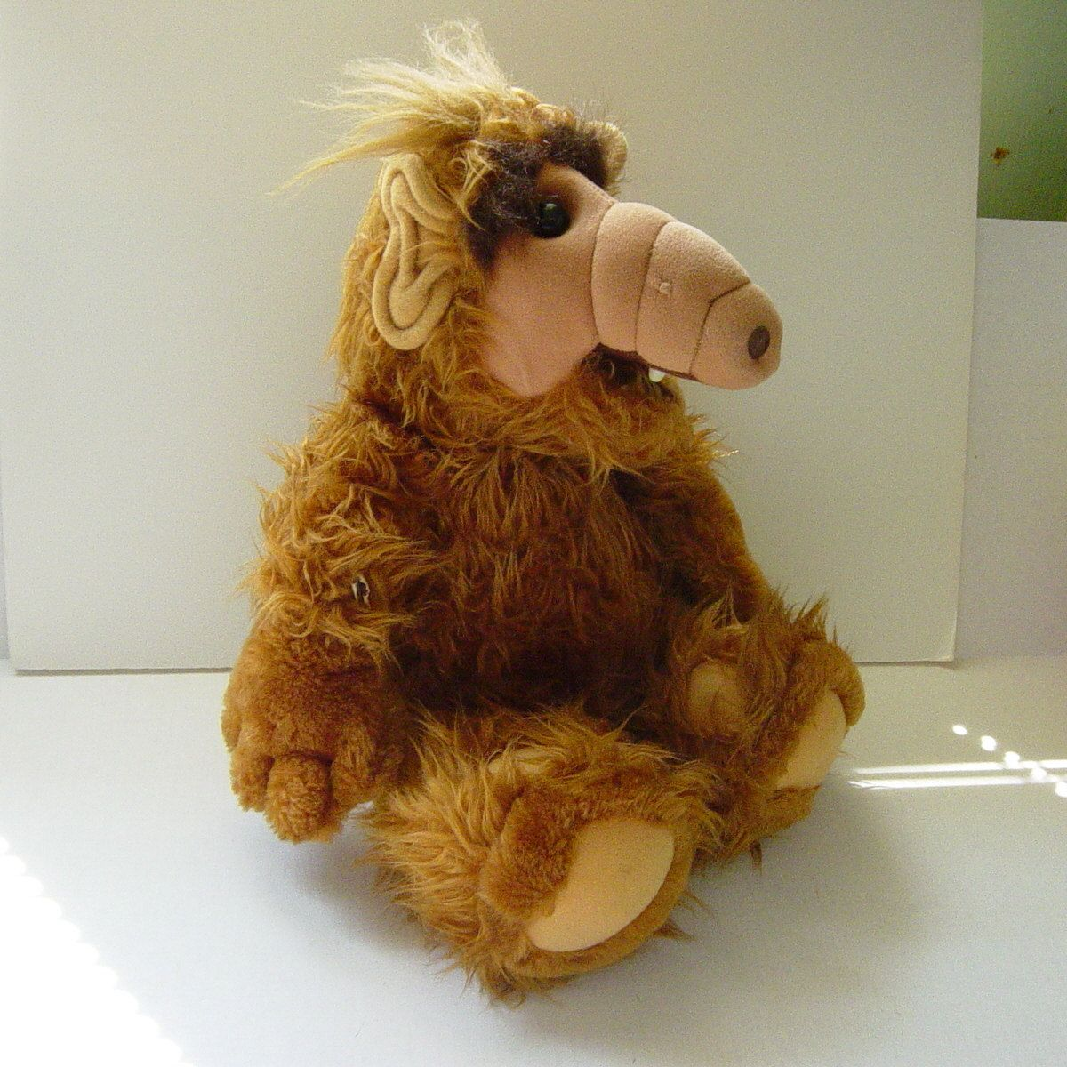 Vintage Alf Stuffed Toy Doll 1986 Alien Productions Coleco