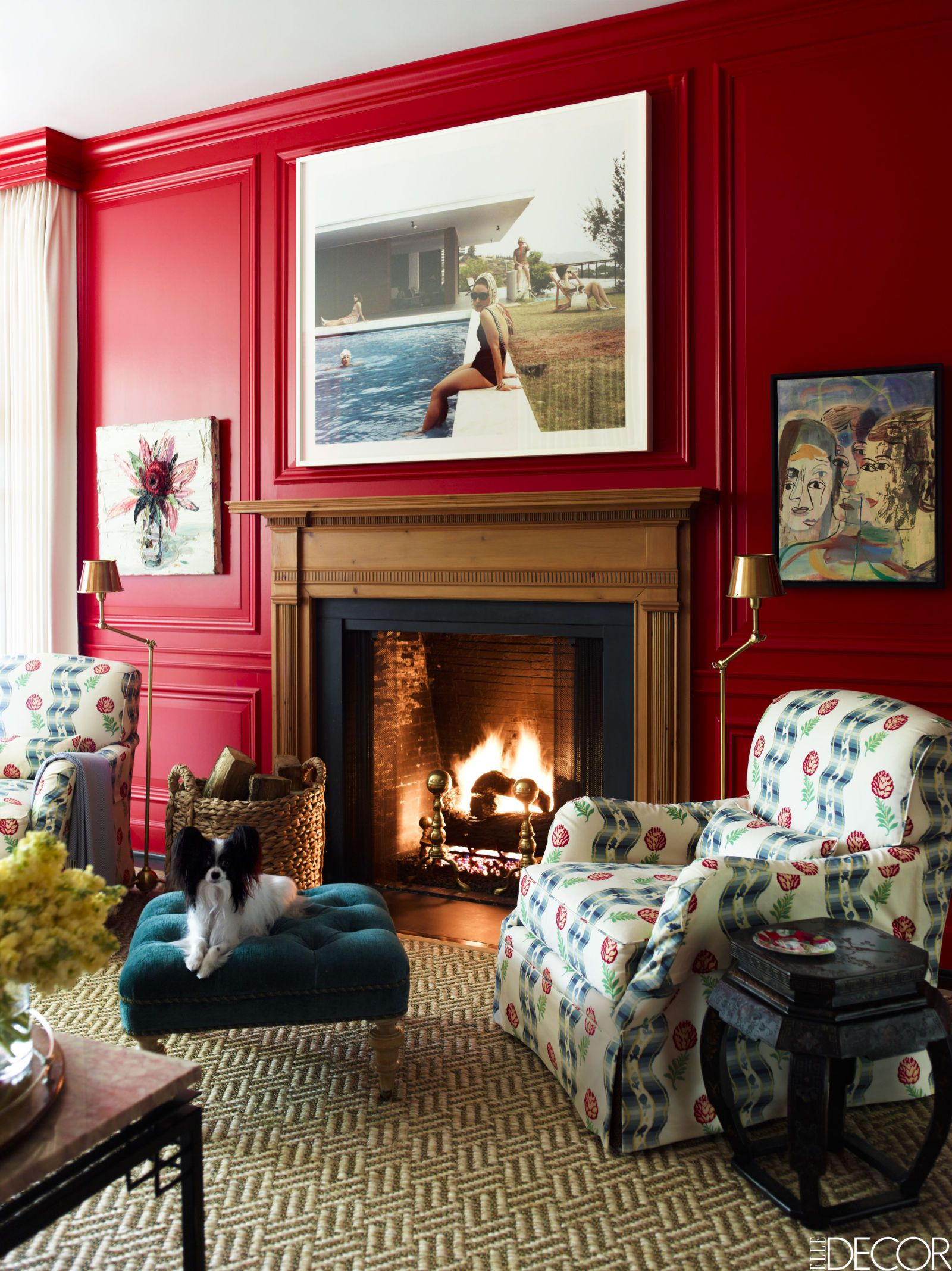 Living Room Color Design For Small House: HOUSE TOUR: Color Takes Center Stage In A Bold Houston