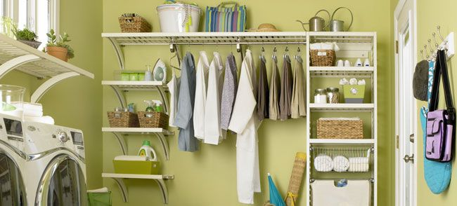 Laundry Room Organization And Ideas From Lowes Add An Allen Roth