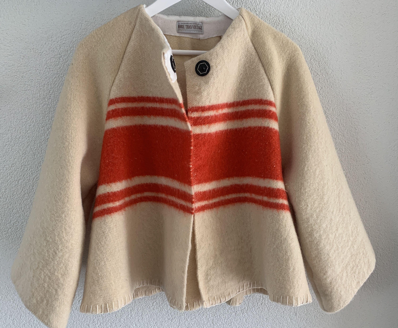 Handmade Blanket Jacket