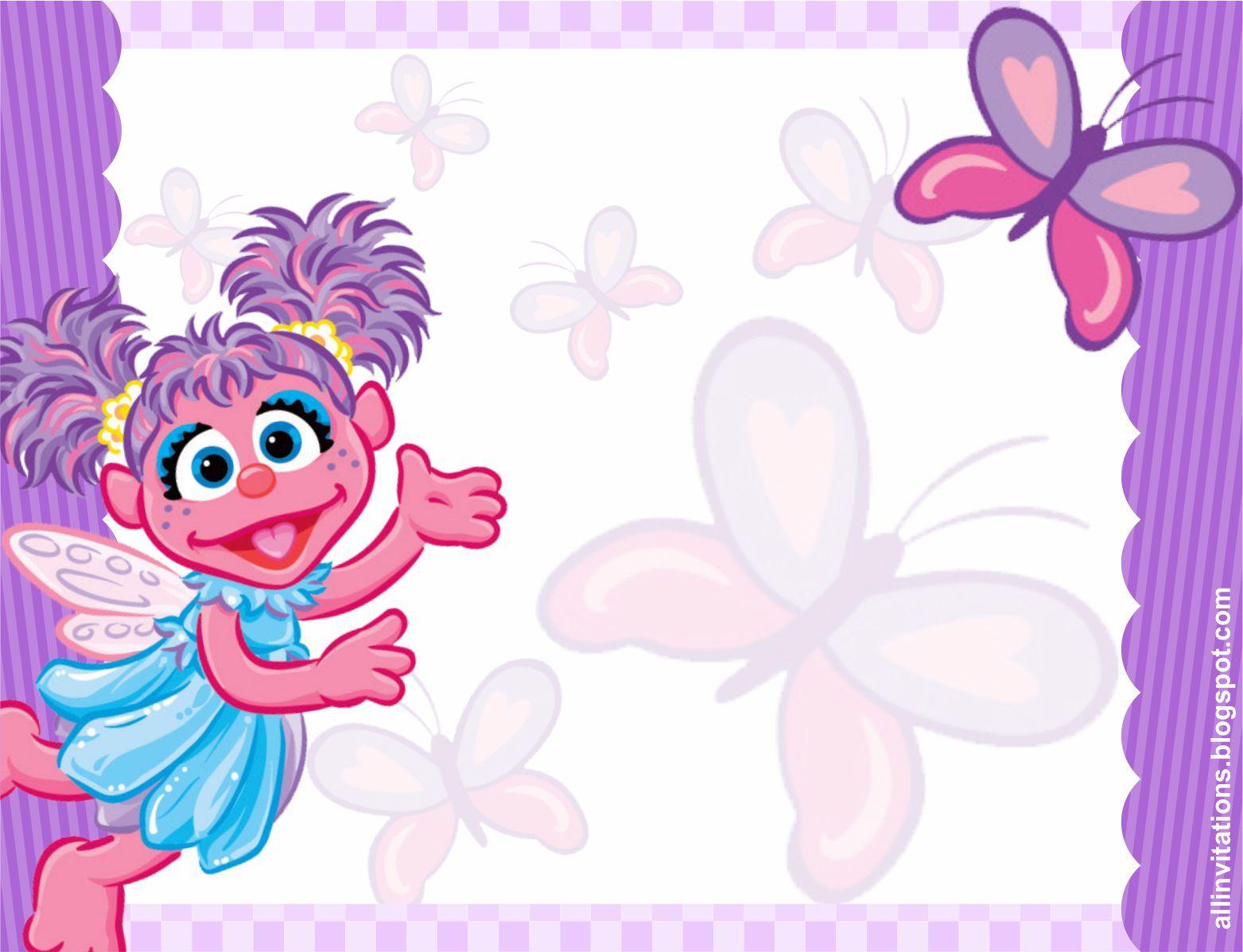 Plantilla invitación Abby Cadabby | mis archivos | Pinterest | Birthdays