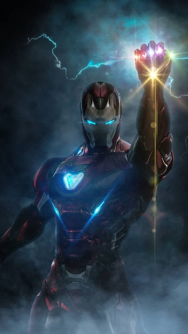 Infinity Stones Iron Man Armor Iphone Wallpaper With Images