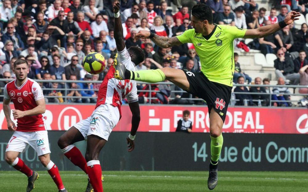 Ligue 1 tenu en échec à Reims, Lille ouvre une voie