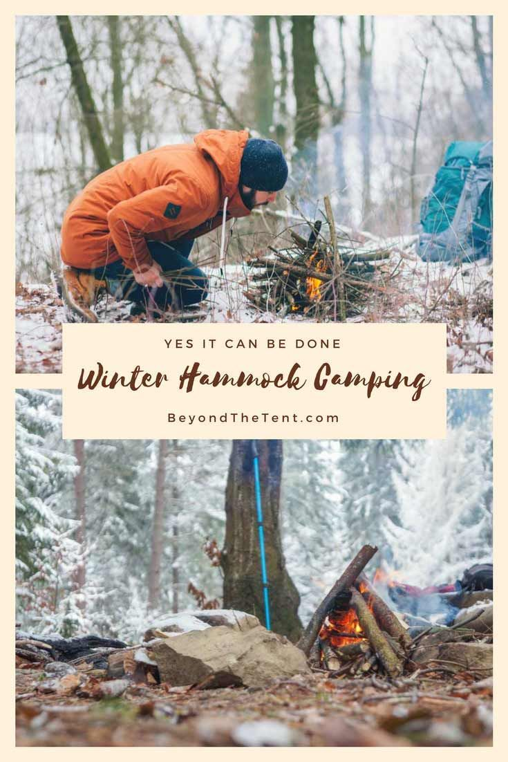 Hammock camping in the winter not only can be done but it is an