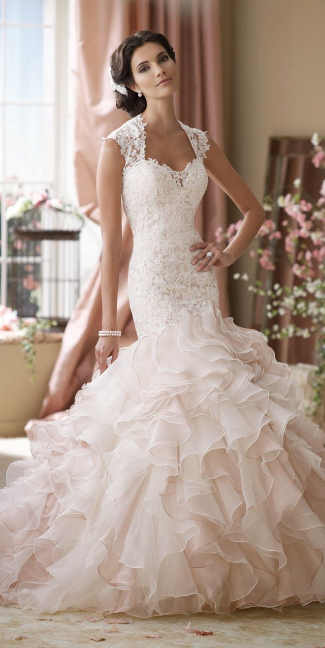 David tutera for mon cheri spring bridal collection belle