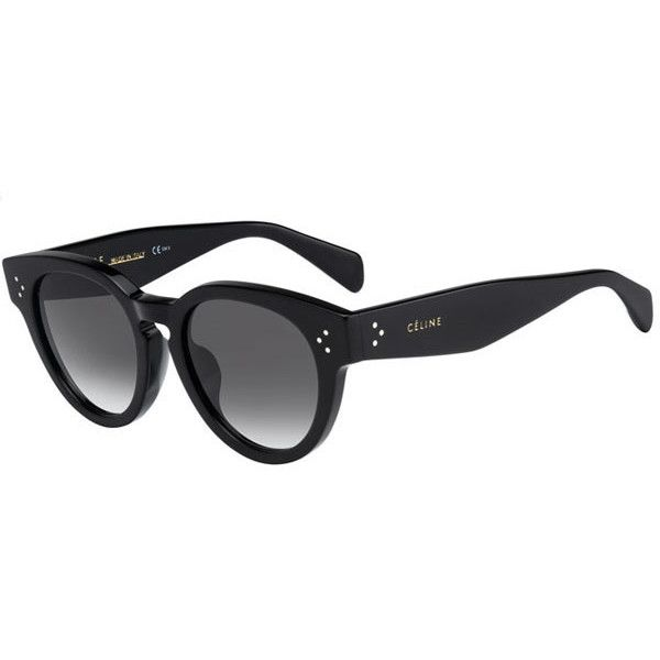 f41fa1daab95 Celine CL 41061 F S Thin Preppy Asian Fit 807 XM Sunglasses (1.560 DKK) ❤  liked on Polyvore featuring accessories