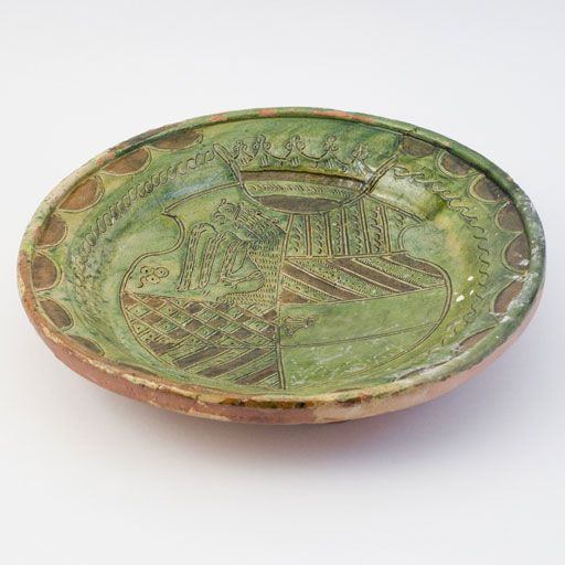 Sgraffito in 3D - Collection - Dish F 8782