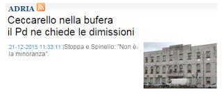 """Ersilio Gallimberti: La Voce di Rovigo? """"Cacata carta"""" diceva Catullo."""