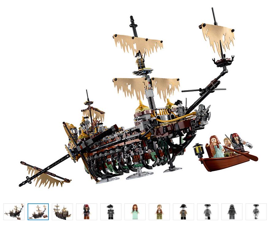 Lego 71042 Pirates Of The Caribbean Silent Mary Dead Men Tell No Tales Pirates Of The Caribbean Ghost Ship Lego