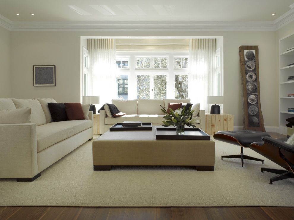 Chic Center Table Look San Francisco Contemporary Living Room Innovative  Designs With Area Rug Crown Molding