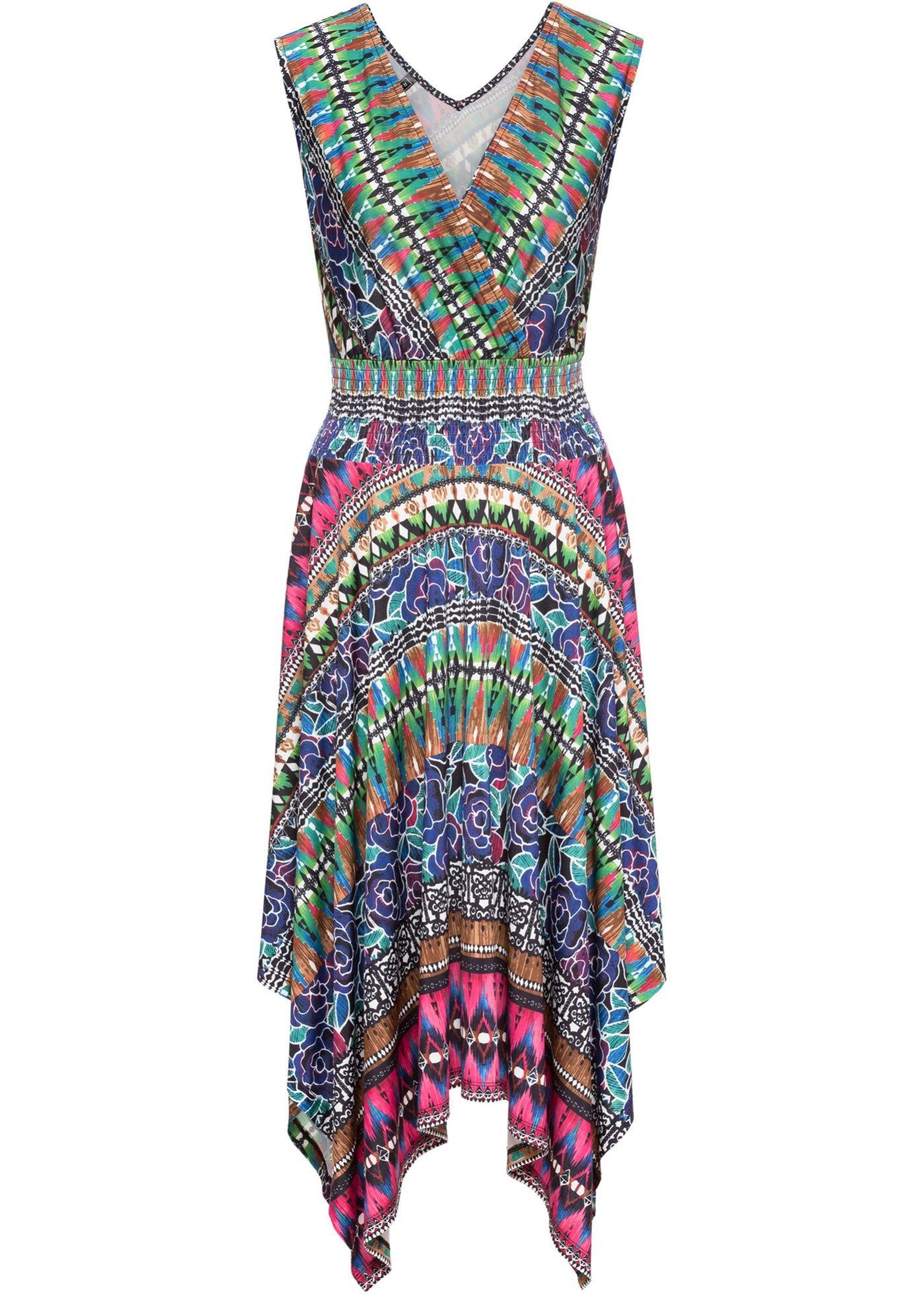 Jerseykleid | Kleider, Outfit und Bunte muster