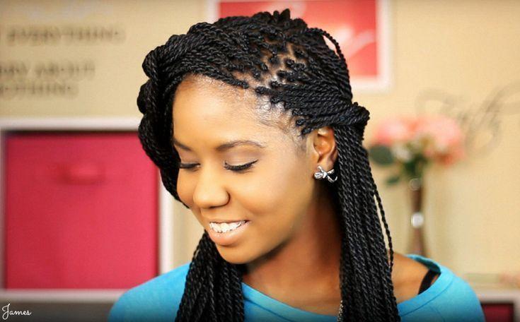 Senegalesische Twist-Frisuren - So geht's, Haartyp, Bilder #howtodoboxbraids # ...   - senegalese twist - #Bilder #geht39s #Haartyp #howtodoboxbraids #senegalese #Senegalesische #Twist #TwistFrisuren # Braids africanas twist # Braids africanas recogido