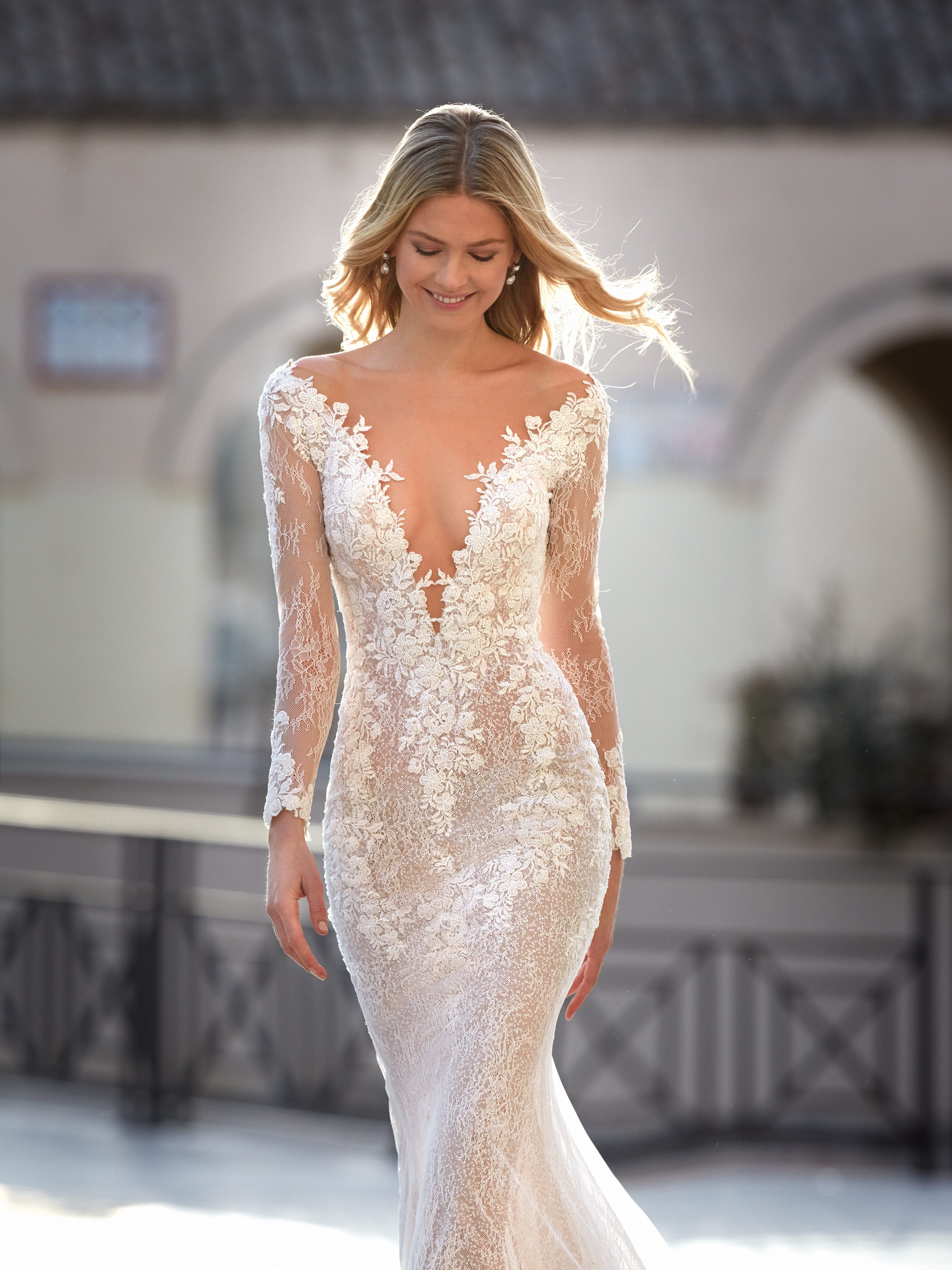 Pin on V-Neck Wedding Dresses