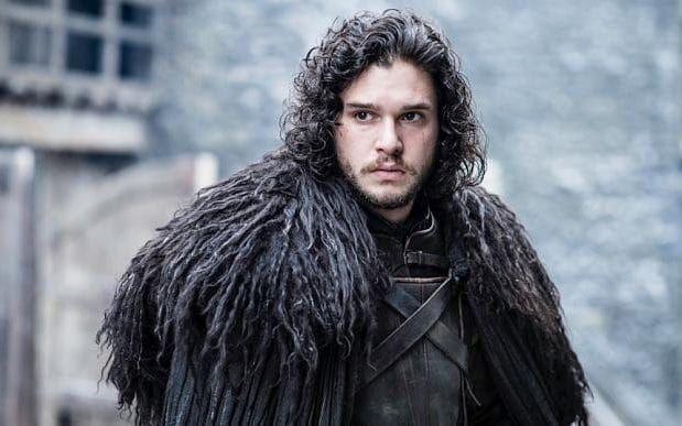 Kit Harington as Jon Snow in Game of Thrones