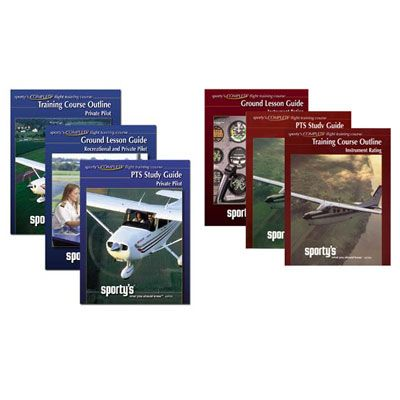 Ultimate set of books for the new or experienced flight instructor.  The Ground Lesson Guides cover Sport, Recreational, Private, and Instrument syllabi.