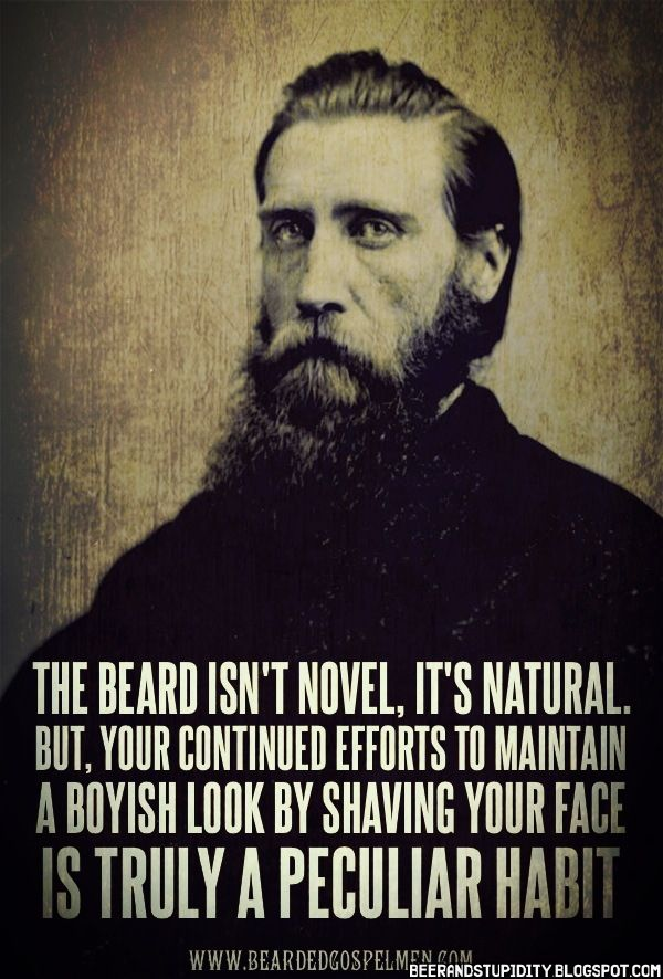 Beard Quotes Best Quotes From Bearded Gospel Men 36 J With
