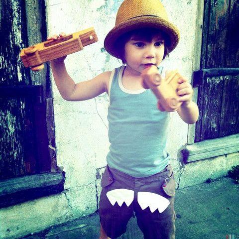 Shark Shorts for Brave Boys boys | Little Citizens Boutique