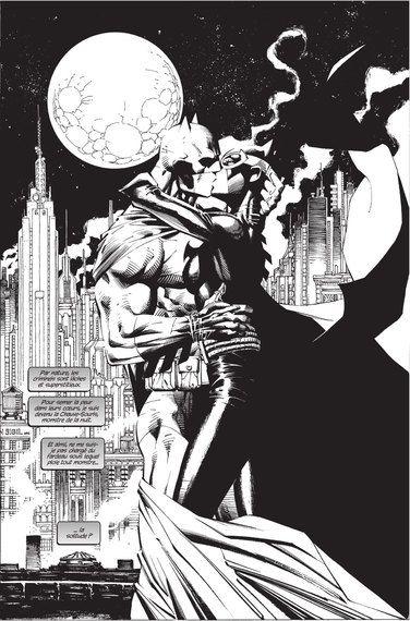 Batman Le Chevalier Noir Et Blanc Super Hero Couples