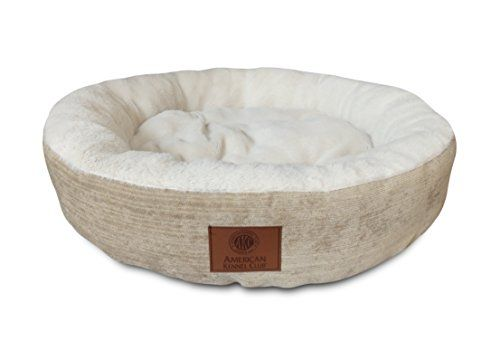 Amazing American Kennel Club Akc Casablanca Round Solid Pet Bed Squirreltailoven Fun Painted Chair Ideas Images Squirreltailovenorg