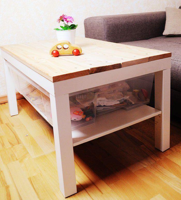 Landhaus Tisch selber machen (DIY) | Ikea tischplatten, Diy
