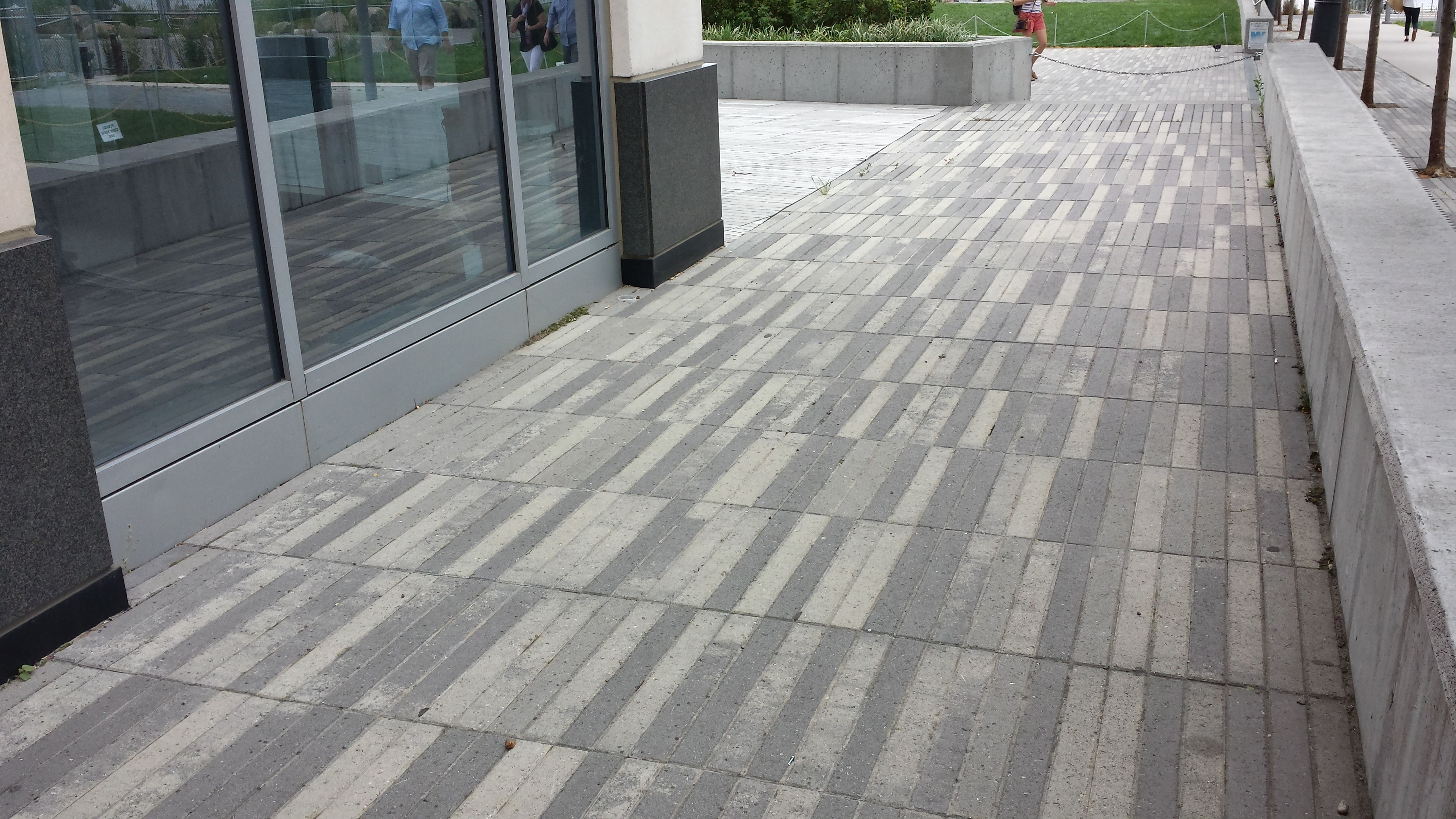 Pleasant Precast Concrete Pavers Tinted