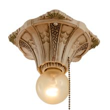 Closet Light Pull Chain Pleasing Sweet Petite Flush Light W Pull Chainc 1928Good For Hall Or Design Ideas