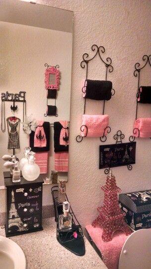 Paris theme bathroom bath decor pink also fundamental home ideas on  budget pinterest rh