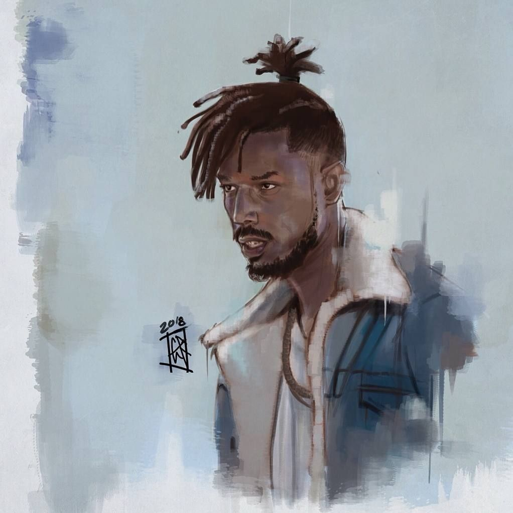 black panther killmonger in the museum comikz comedy art pinterest black panther. Black Bedroom Furniture Sets. Home Design Ideas