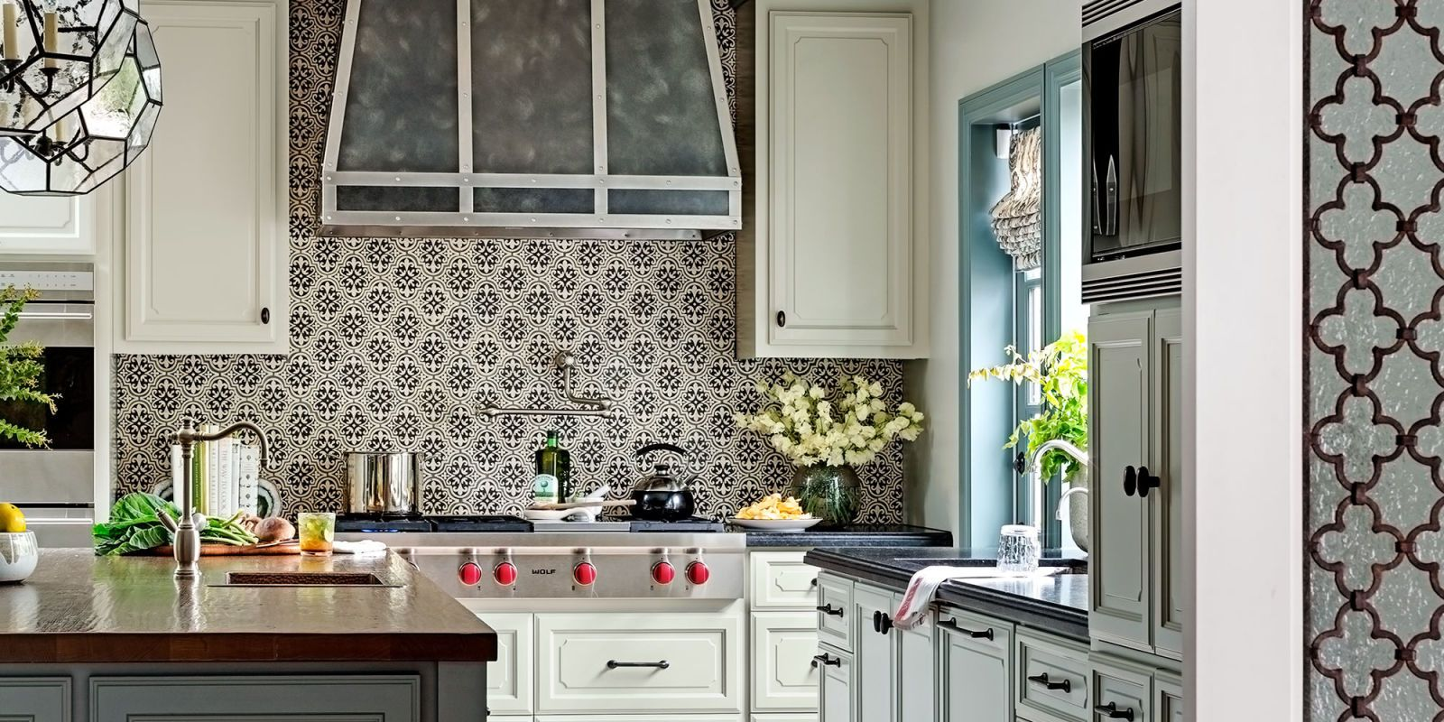 tour an expansive kitchen with california cool style