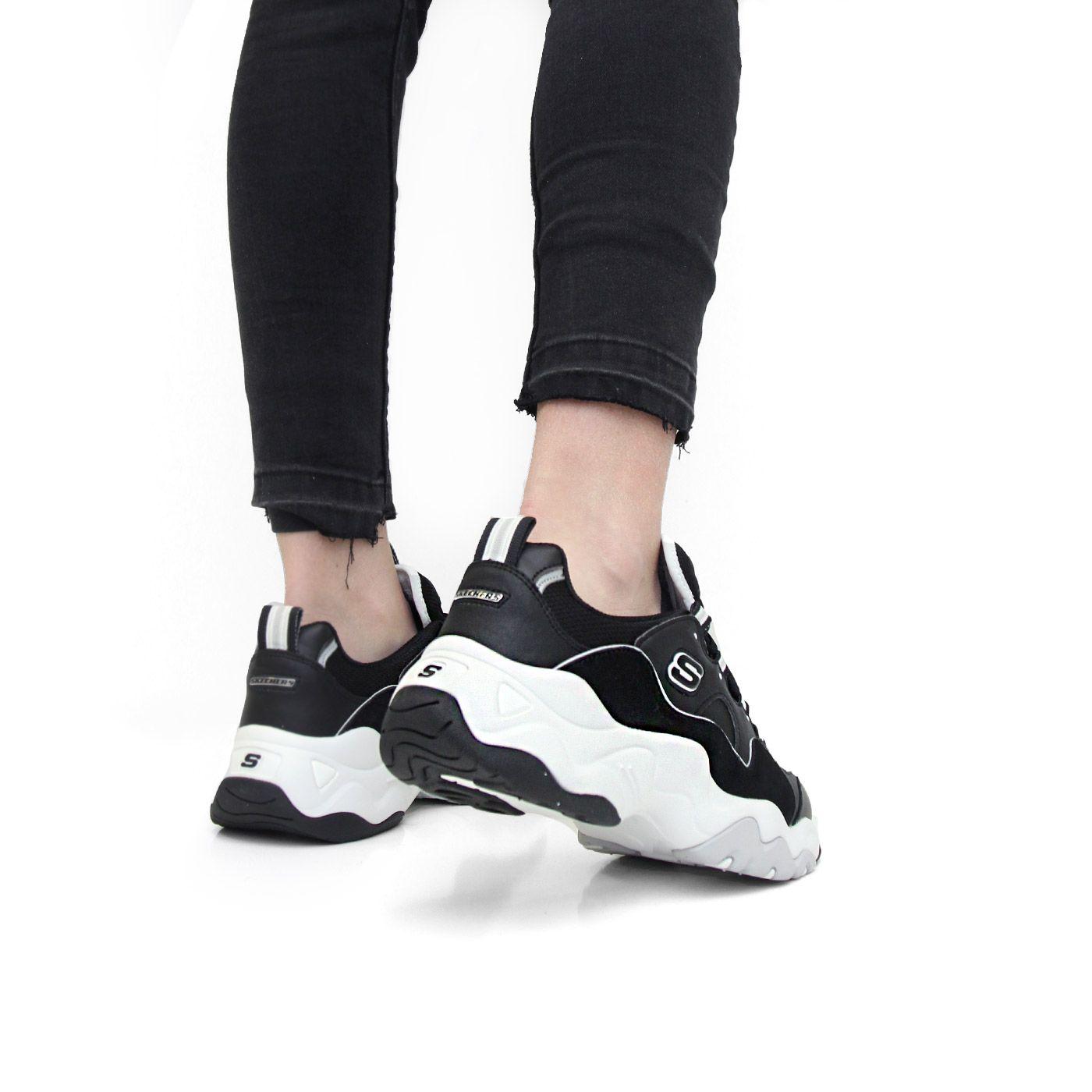 zapatos skechers hombre negro womens