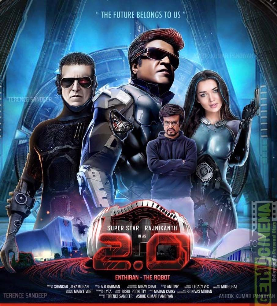 2.0 Aka Enthiran 2 Tamil Movie Unseen HD Fan Made Posters