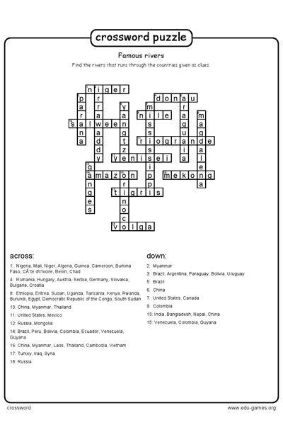 Crossword Maker Pdf