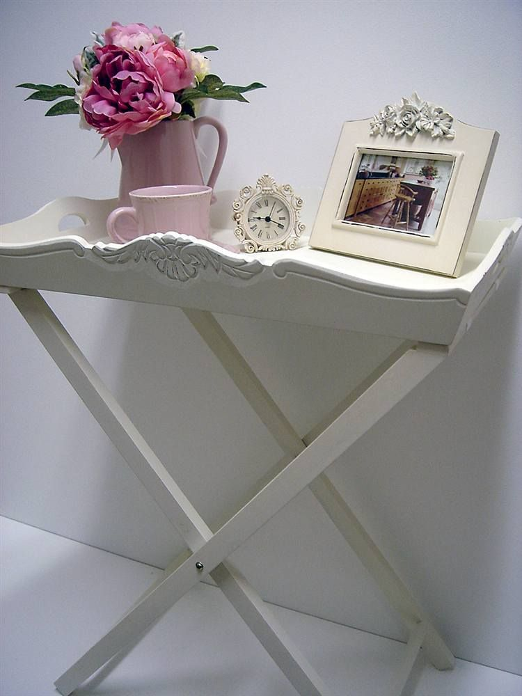 Sophia Painted Butlers Tray With Stand