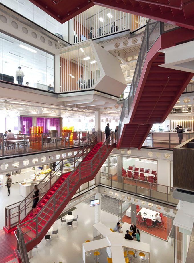 Oficinas modernas dise os actuales de for Arquitectura de oficinas modernas