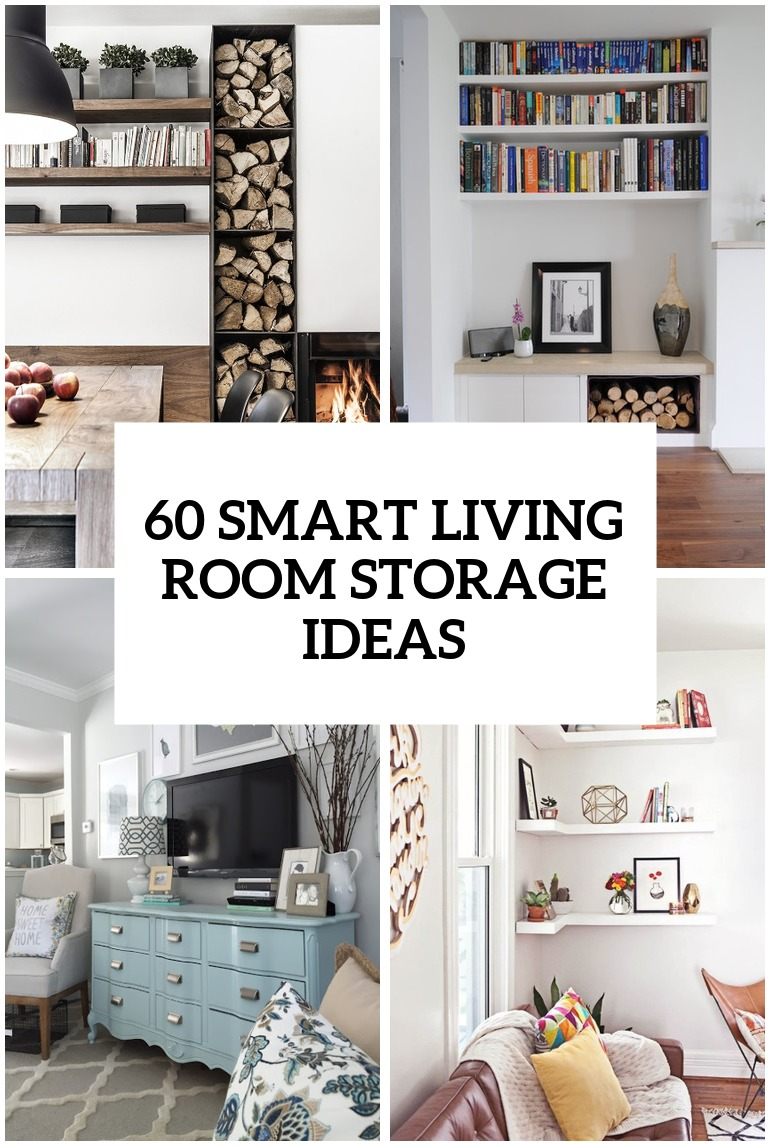 Simple But Smart Living Room Storage Ideas Living Room Storage
