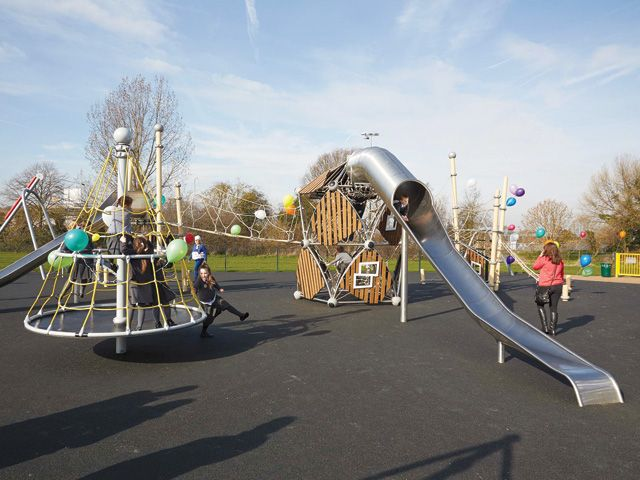 Carlton Road Play Area London Borough Of Bexley Project Russell Play Playground Uk