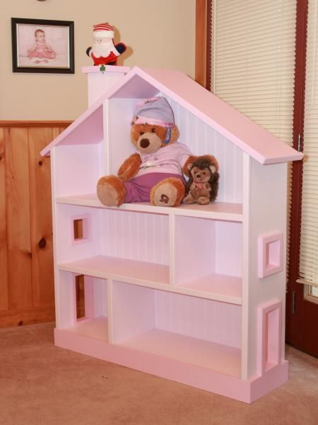 Dollhouse Bookcase From Santas Workshop