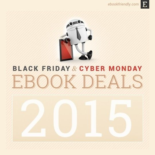 Here is a list of most attractive early #BlackFriday15 ebook deals: #Kindle #Kobo #Nook