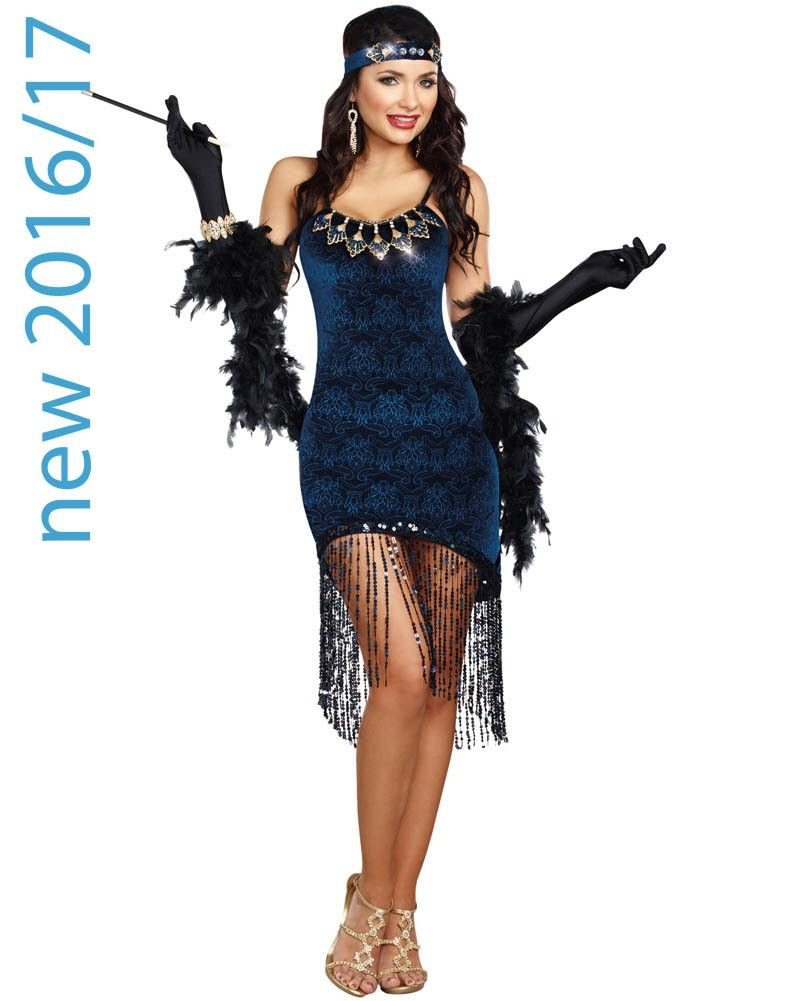 1920s Downtown Doll Womens Costume