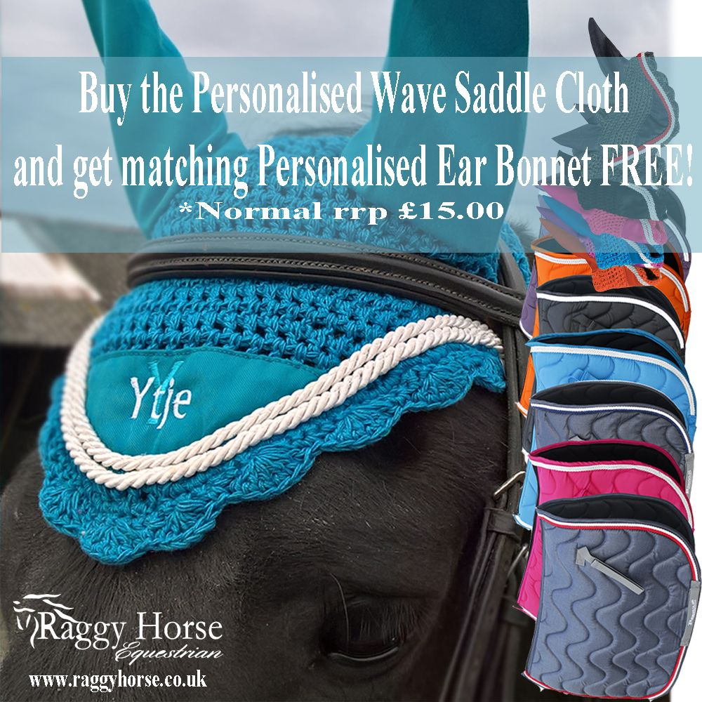 Special Offer! Order the Personalised Wave Saddle Pad and