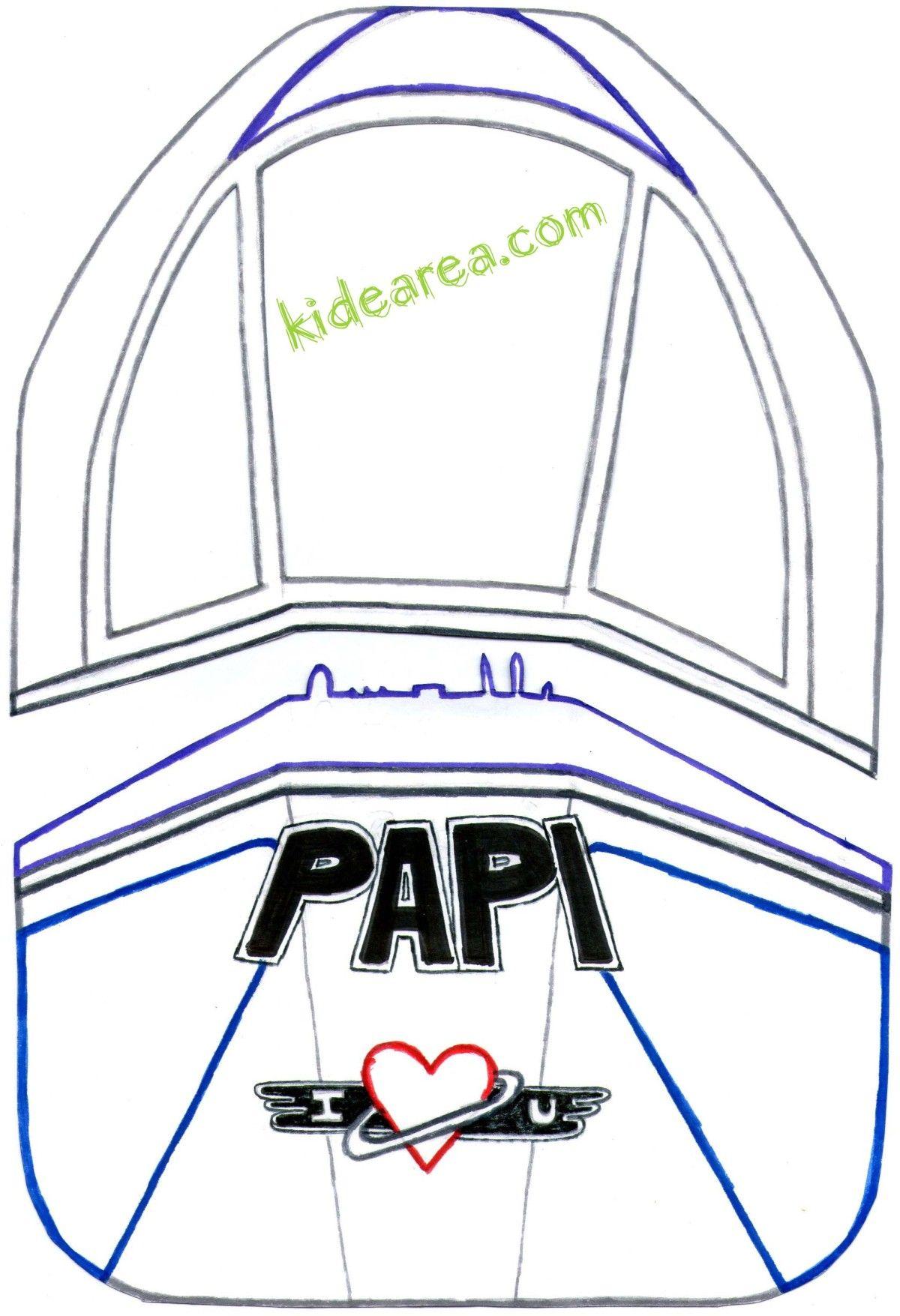 Manualidades infantiles para el día del padre: Tarjeta-Buzón de Buzz ...