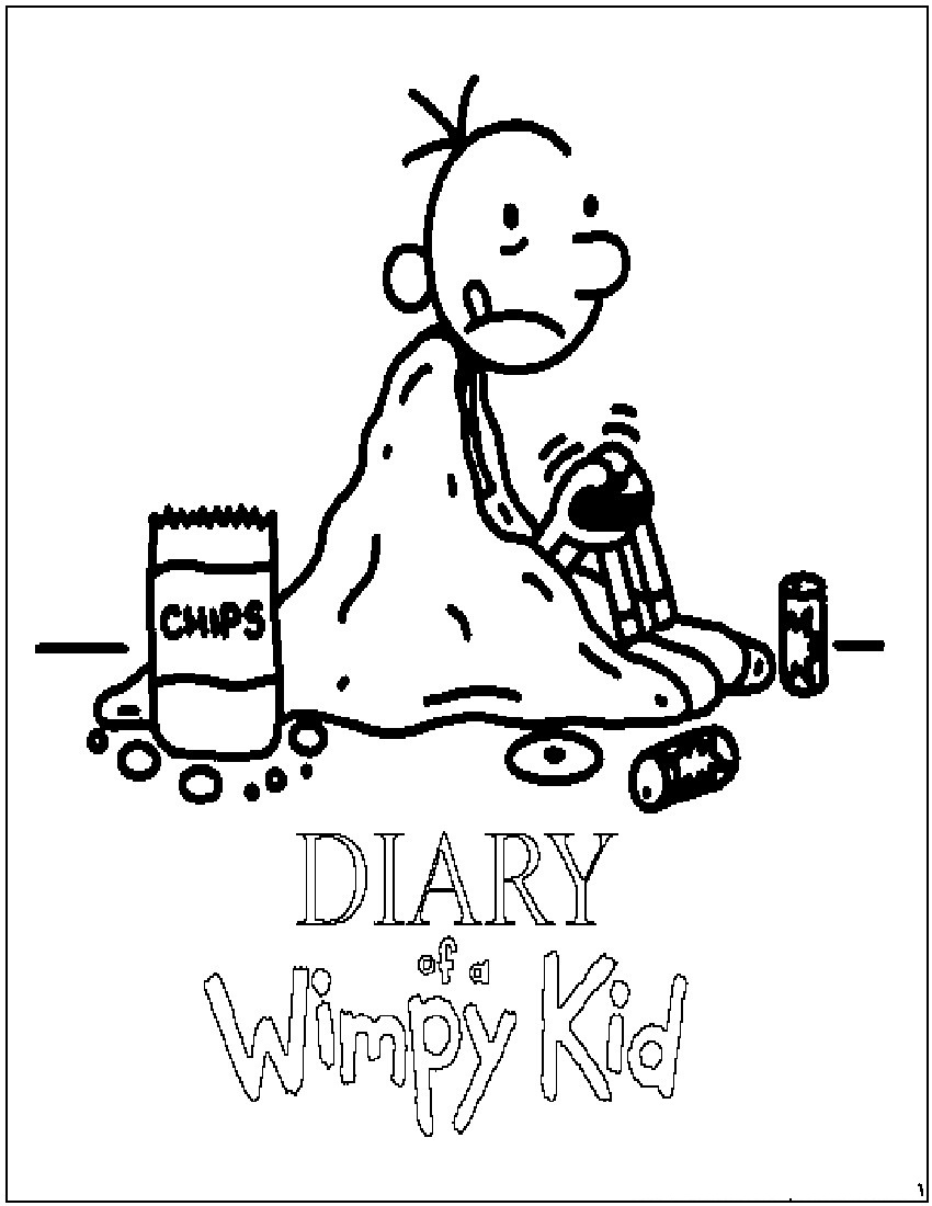 Diary Of A Wimpy Kid Coloring Pages Printable Shelter In 2020 Coloring Pages For Kids Wimpy Kid Coloring Pages