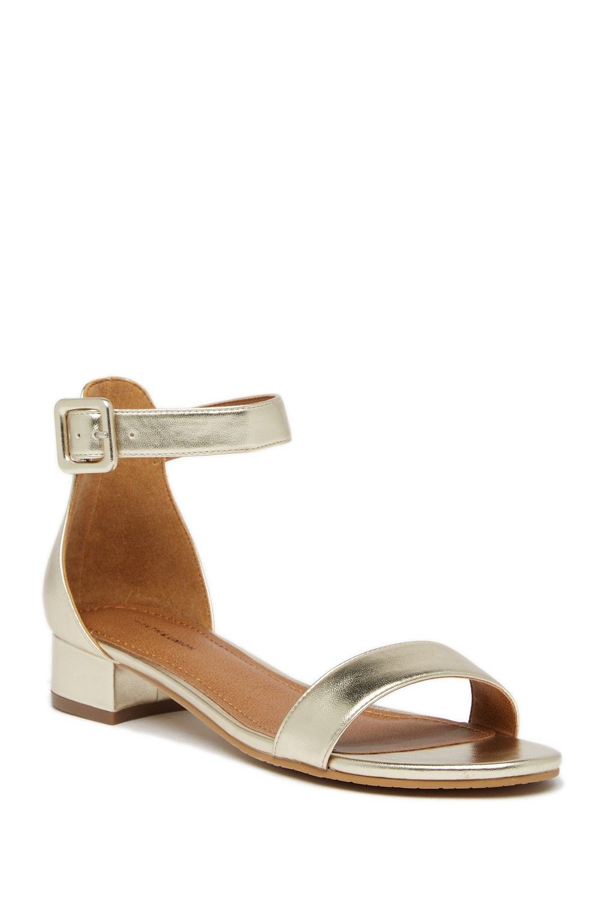 845fc06b184 14th   Union - Justine Ankle Strap Sandal - Wide Width Available. Free  Shipping on orders over  100.