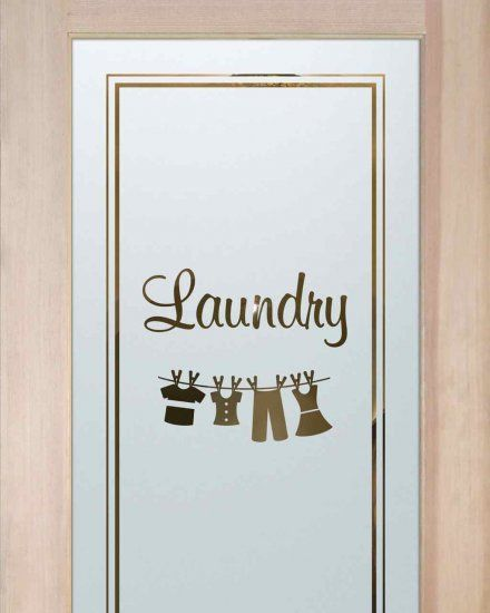 If You Re Looking To Spruce Up Your Laundry Room An Etched
